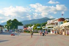 Kabardinka, Rússia Foto de Stock Royalty Free