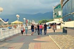 Kabardinka, Rússia Fotos de Stock