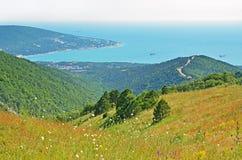 Kabardinka, Russia, summer landscape Stock Photo