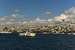 Kabatas district. Kabatas disctrict at beyoglu istanbul Stock Photography