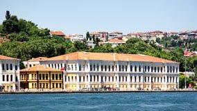Kabatas High School. Building, Istanbul Royalty Free Stock Photography
