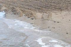 Kabbelend vatten Fotografering för Bildbyråer