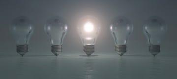 kabeer elektrisk lightingström två Royaltyfri Fotografi