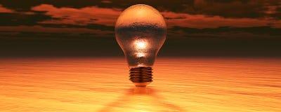 kabeer elektrisk lightingström två Royaltyfria Foton