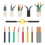 kabeer elektriskt stock illustrationer