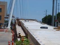 Kabel blieb Katy Trail Pedestrian Bridge Lizenzfreies Stockfoto