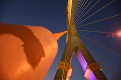 Kabel der Brücke Lizenzfreies Stockfoto