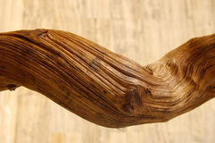 Kabel des Holzes Stockbild