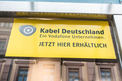 Kabel Deutschland and Vodafone Royalty Free Stock Photography