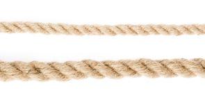 Kabel die op wit wordt geïsoleerdr Royalty-vrije Stock Foto