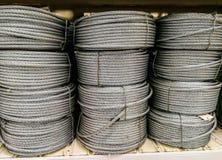 Kabel, Draad, Cirkel, Ijzer - Metaal, Metaal stock afbeelding