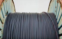 Kabel för optisk fiber arkivbild