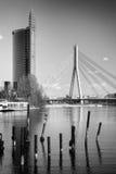 Kabel-gebleven brug Stock Foto