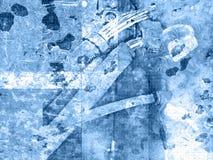 Kabel Grunge stock illustratie