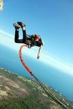 Kabel het springen Stock Foto