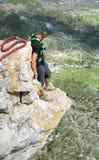 Kabel het springen Stock Foto's