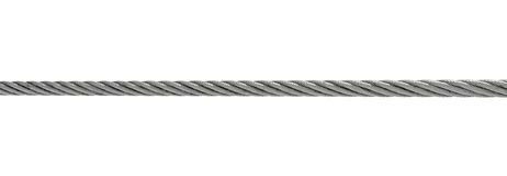 kabel isolerad stålwhite Royaltyfri Fotografi