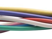 kabel izolująca władza obraz stock