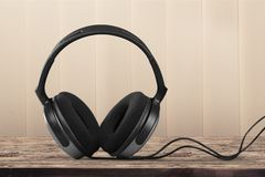 Kabel-Kopfhörer Lizenzfreie Stockfotos