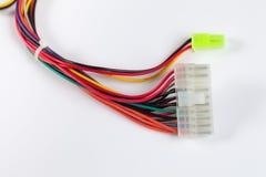 Kabel mit Steckern Lizenzfreies Stockbild