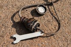 Kabel och hålighet Arkivfoton