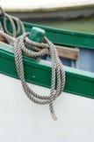 Kabel op boot Stock Afbeelding