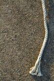 Kabel op de muur Stock Foto's