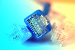 kabel sieci obraz stock