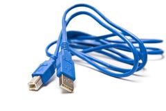 Kabel USB stock fotografie