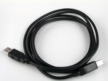 Kabel USB Stock Afbeelding