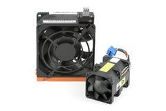 kabel varm swap för svalningsventilator Fotografering för Bildbyråer