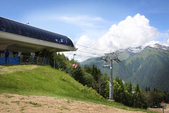 Kabelbahn Lizenzfreie Stockfotografie