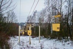 Kabelbahn Lizenzfreie Stockbilder