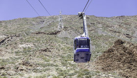 Kabelbil Tenerife royaltyfri bild