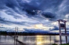 Kabelbrug Stock Afbeeldingen