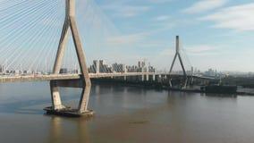 Kabelbrug, videofilm van de lucht