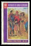 Kabeldanser door Picasso Stock Foto's