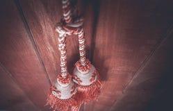 Kabelgordijnen Royalty-vrije Stock Fotografie