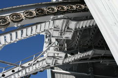 kabeljärnväghjul Arkivfoton