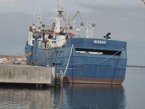 Kabeljauw navire op haven royalty-vrije stock fotografie
