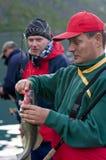 Kabeljauwvisserij royalty-vrije stock foto's