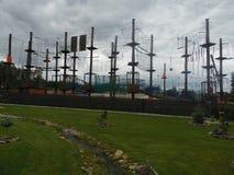 Kabelpark stock foto