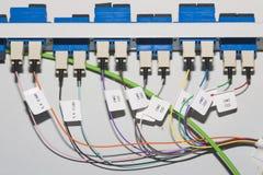 Kabelproppar Arkivfoto