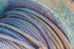 Kabelrulle Fotografering för Bildbyråer