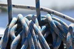Kabels in bundels Stock Fotografie