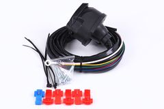 Kabels, macht, elektro Stock Foto