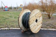 Kabelspule Stockfoto