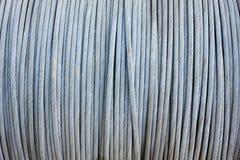 kabelståltråd Arkivfoto