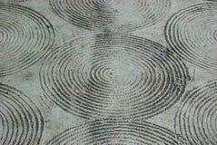 Kabelstreep op vloer Royalty-vrije Stock Afbeeldingen