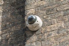 Kabeltelevisie-Camera het hangen Royalty-vrije Stock Foto's